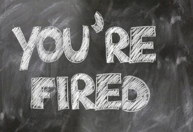 Fired, Kündigung, bevorstehende Kündigung, drohende Kündigung