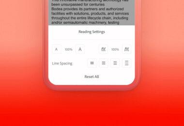 Adobe, Adobe Sensei, Luquid Mode, PDF-Dokumente, mobiles Arbeiten