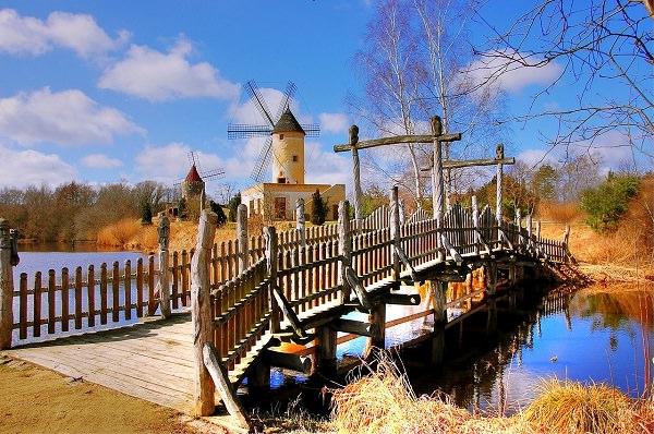 Niedersachsen, Windmühle, Windrad, höchstes Gehalt