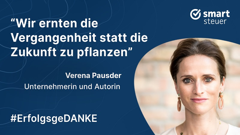 Verena Pausder, Smartsteuer, ErfolgsgeDANKE, Podcast