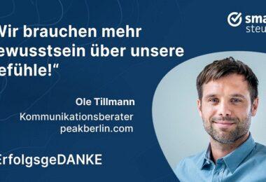 Ole Tillmann, ErfolgsgeDANKE, Podcast, Unter uns, PEAK