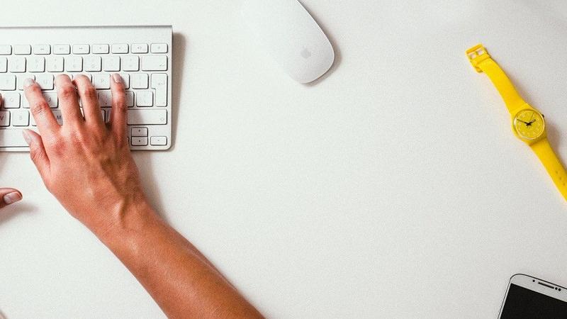 Home Office, Remote Work, Tastatur, Home-Office-Typ