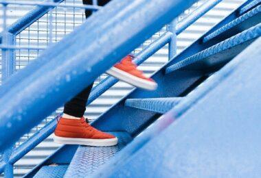 Treppe, Treppensteigen, Wachstum, Sport, Change, Change Management