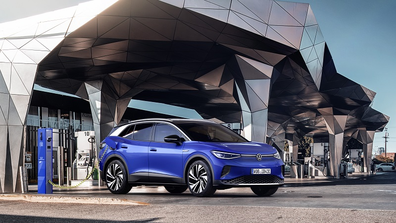 Volkswagen, VW ID.4, SUV, Elektroauto