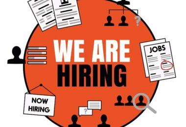 We are hiring, Stellenangebot, Jobsuche, Arbeitsplatzsuche