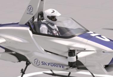 Sky Drive, Toyota, Flugtaxi, VTOL