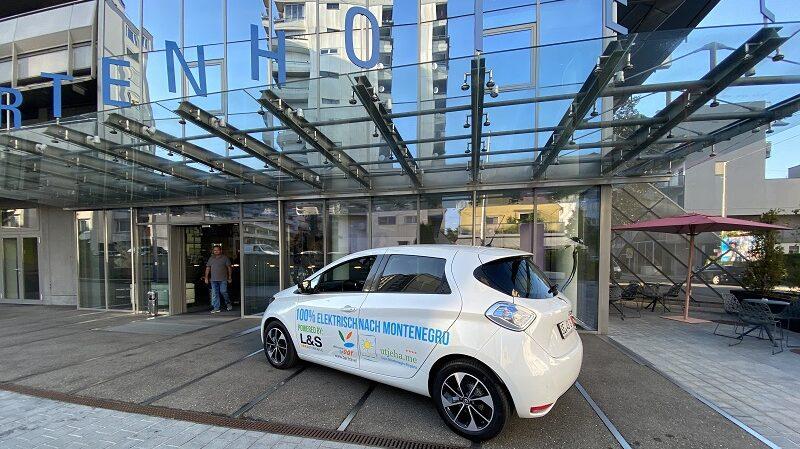 Renault Zoe, Elektroauto, Hotel, Graz, Michael Bader