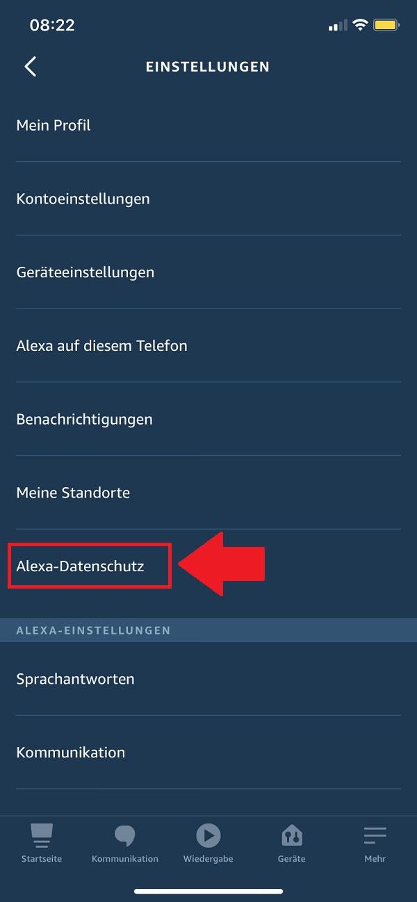 Alexa, Amazon Alexa, Alexa-Gespräche löschen, Alexa Gespräche automatisch löschen, Alexa Aufzeichnungen löschen, Alexa-Aufzeichnungen automatisch löschen