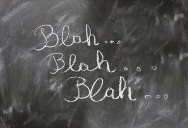 Blabla, Blah Blah, Kommunikation, Phrasen