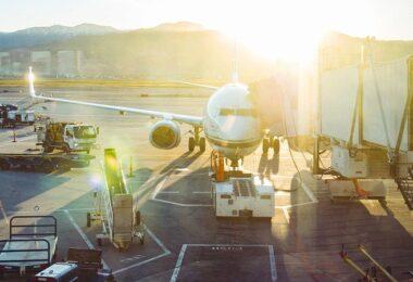 Flugzeug, Flughafen, Fracht, Cargo