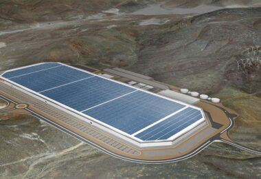 Tesla Gigafactory, Nevada, Fabrik, Solarzellen