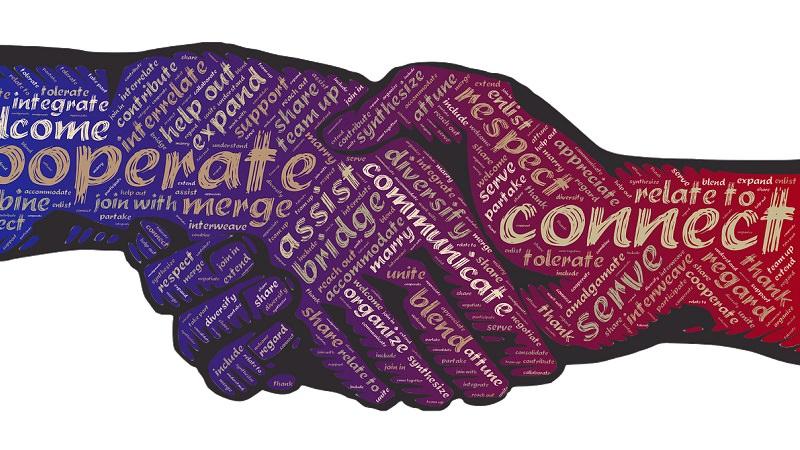 Handschlag, Kooperation, Partnerschaft, Innovationspartnerschaft
