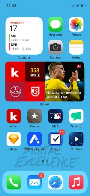 Homescreen, iPhone, Apple, Apps, Matthew Ulbrich, Tickaroo