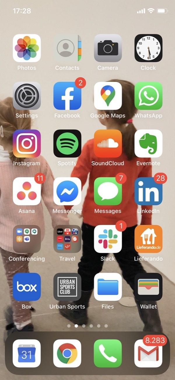 Homescreen, iPhone, Apple, Apps, Rupert Schäfer, The Nunatak Group