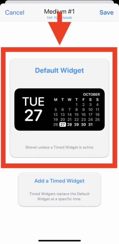 Widgetsmith, iPhone-Widget
