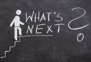 Leiter, Karriereleiter, Treppe, Aufstieg, Ausblick, Zukunft, berufliche Karriere