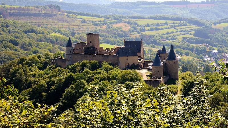 Schloss, Luxemburg, Bourscheid