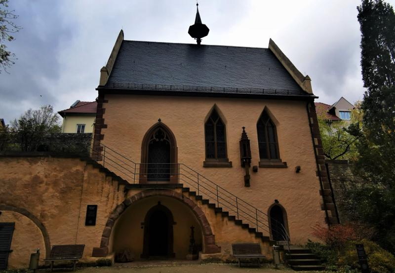 Michaelskapelle Oppenheim, Kirche