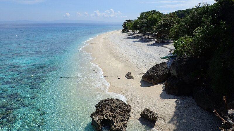 Cebu, Oslob, Strand, Philippinen, Asien, Insel