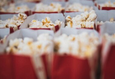 Popcorn, Popcorn-Tüten, Kino, Amazon Prime im November 2020