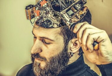 Gehirn, Technik, Cyborg, besser lernen