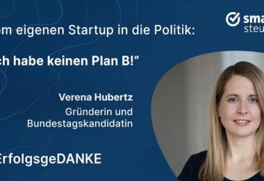 Verena Hubertz, Kitchen Stories, ErfolgsgeDANKE, Podcast