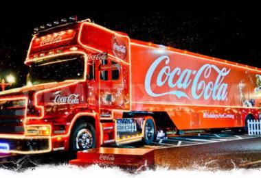Coca-Cola, Weihnachten, Coca-Cola Truck, Lastwagen
