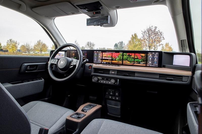 Honda e Amaturenbrett, Dashboard, Elektroauto, Touchscreen