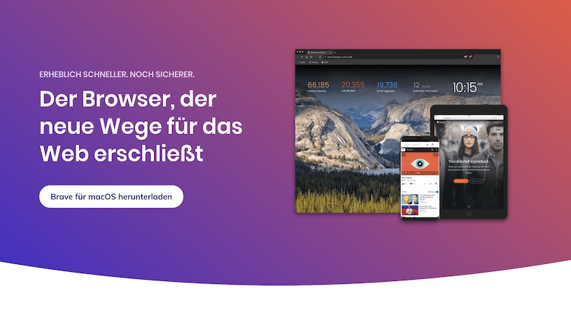 Brave Browser, Browser, Internet, Sicherheit