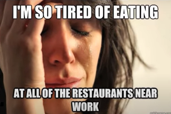 First World Problems, Meme, Frau, weinen, Trauer