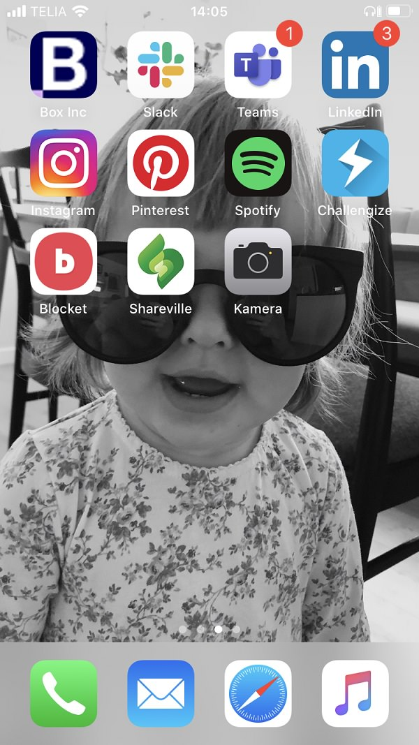 Mikael Fristedt Westre, Box Inc., Homescreen, iPhone, Apple, Apps, iOS