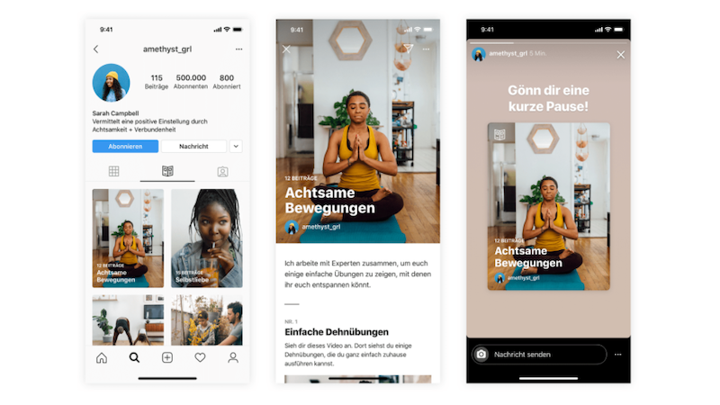 Instagram, Instagram-Guides