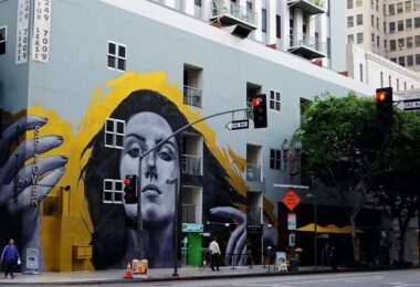 Graffiti, Straßenkunst, Los Angeles, USA