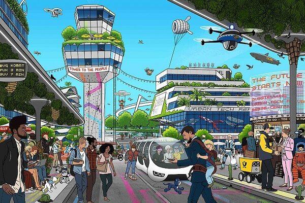The Urban Tech Republic, Berlin Tegel, TXL