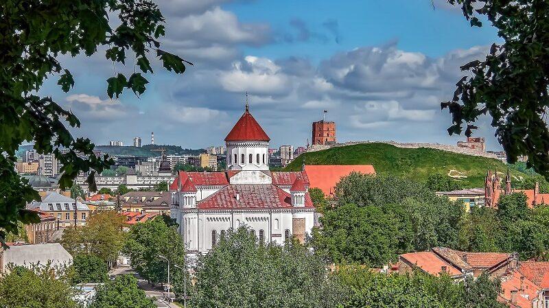 Vilnius, Litauen, Kirche, Altstadt, Europa