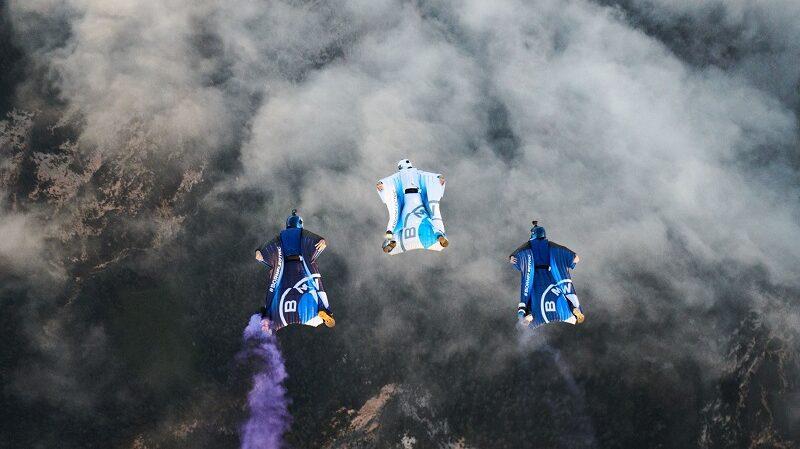 Wingsuit, fliegen, BMW Wingsuit