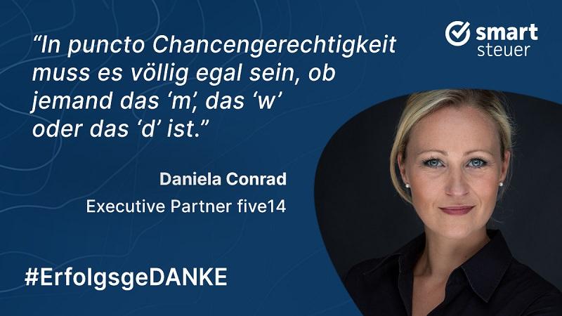 Daniela Conrad, New-Work-Personalberatung, New Work, five 14, ErfolgsgeDANKE