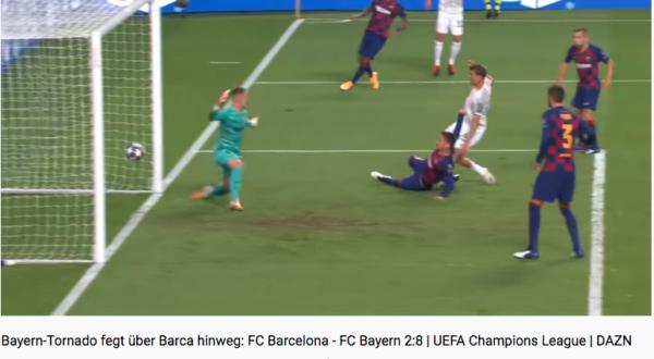 FC Barcelona - FC Bayern 2:8 | UEFA CUP, Youtube