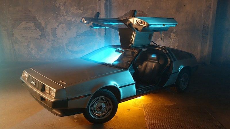 Delorean, Zurück in die Zukunft, Digital Services Act (DSA), Science-Fiction-Filme, Zurück in die Zukunft