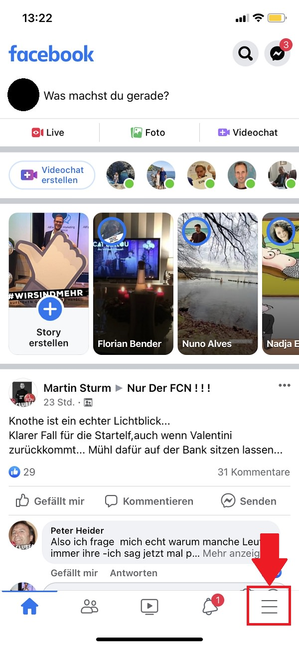 Facebook, Facebook auf allen Geräten abmelden, Facebook von allen Geräten abmelden