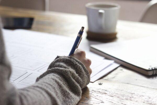 Bildung, Lernen, Mitschrift