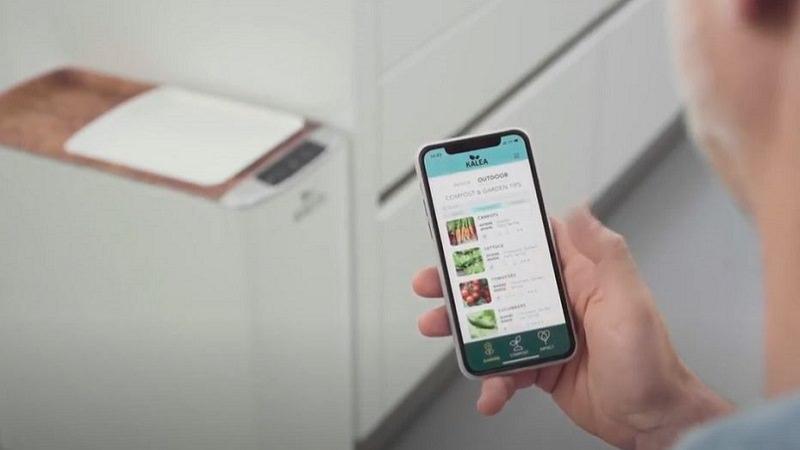 Kalea, KALEA, Kalea Küchenkomposter, smarter Komposter