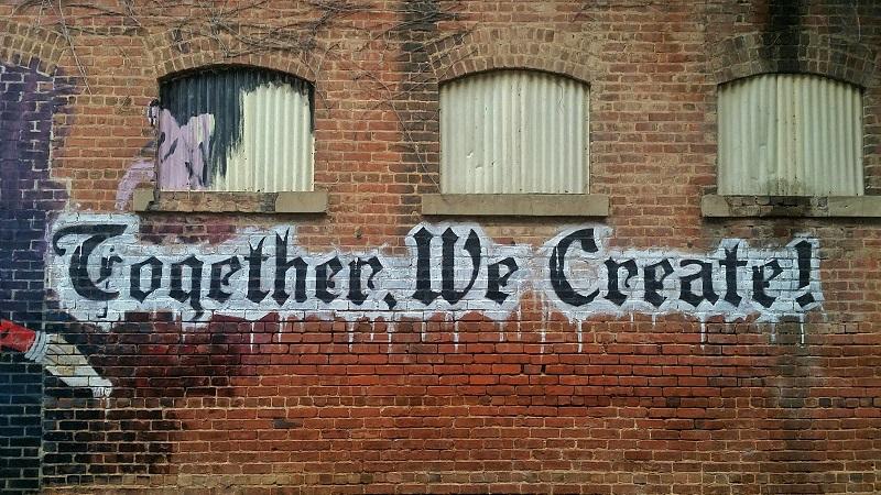 Graffiti, Zusammenarbeit, Kooperation, Partnerschaft