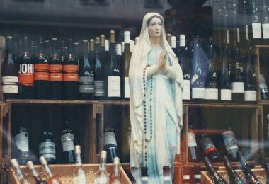 Maria, Jungfrau Maria, Maria-Statue, Webtracking