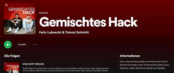 Gemischtes Hack, Felix Lobrecht, Tommi Schmitt