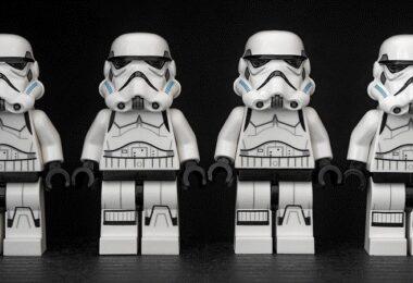 Sturmtruppen, Lego, Legofiguren, Lego Star Wars, soziale Netzwerke