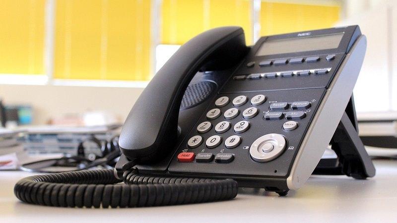 Telefonanlage, Telefon, letzter Arbeitstag