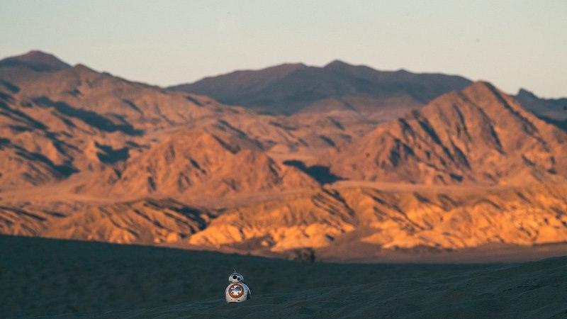 Death Valley, Tal des Todes, Nevada, USA, Star-Wars-Drehorte