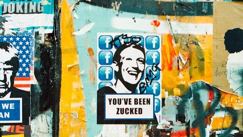 You´ve been Zucked, Mark Zuckerberg, Facebook Graffiti