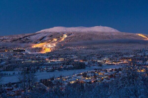 Norwegen, Schnee, Natur